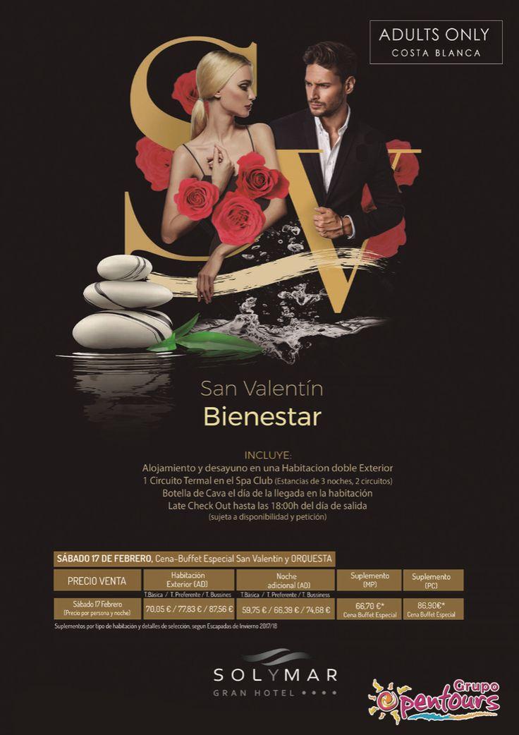 Gran Hotel Sol y Mar **** (Calpe, Alicante, Costa Blanca, España) ---- Especial SAN VALENTIN 2018 - Bienestar ---- Sábado 17 de Febrero, desde 59,75 € ---- Resto condiciones de esta oferta en www.opentours.es ---- Información y Reservas en tu - Agencia de Viajes Minorista - ---- #granhotelsolymar #hotelsolymar #calpe #alicante #costablanca #SANVALENTIN2018  #escapadas #hoteles #vacaciones #estancias #ofertas #familias #niños #agentesdeviajes  #reservas #touroperador #mayorista #spain…