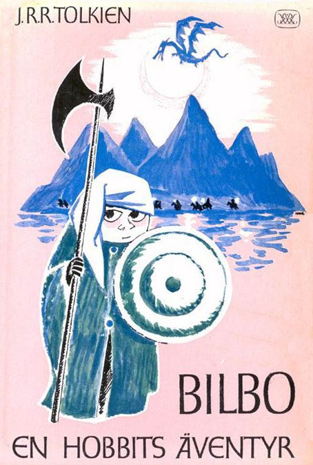 Vintage Illustrations for Tolkien's The Hobbit by Tove Jansson via brainpickings #Illustration #Tove_Jansson #Tolkien