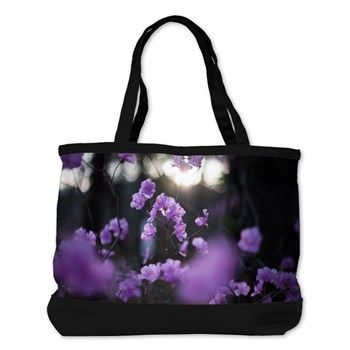 Purple Azaleas of Hope Shoulder Bag