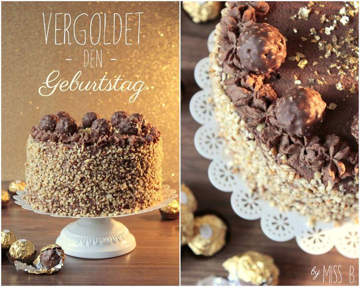 Miss Blueberrymuffin's kitchen: Goldene Zeiten: Rocher-Torte (Halloween Bake Cupcakes)