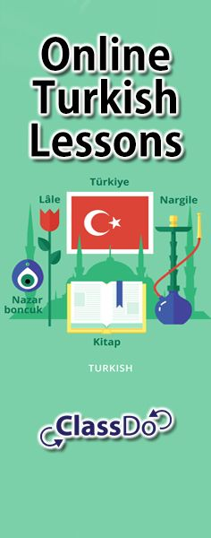 #TurkishLanguage #Online Turkish  Welcome! I am the establisher of the Facebook page below and I am teaching here on ClassDo!  https://www.facebook.com/lets.learn.turkish.language
