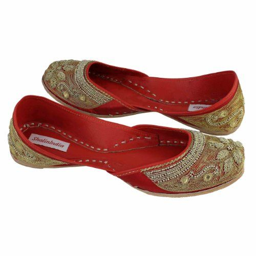 Amazon.com: Embroidered Shoes Indian Moccasins For Women Beaded Handmade Size: 9: Shoes