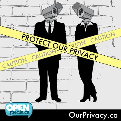 OpenMedia joins forces with over 30 major organizations across a wide range of political perspectives to launch the largest pro-privacy coalition in Canadian history. The Protect our Privacy Coalition is fighting for strong, genuinely transparent, and properly enforced safeguards to secure our privacy rights.   Support the coalition and spread the word at http://OurPrivacy.ca