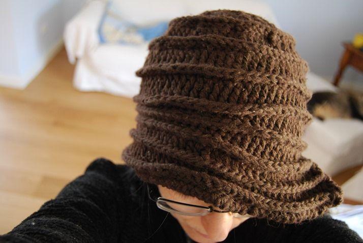 Cloche Crochet Hat - free pattern Crochet hats Pinterest