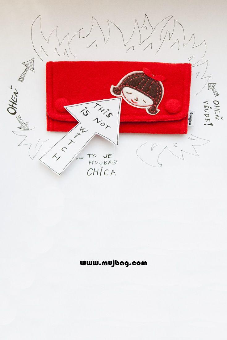Zapal svůj tabák ještě dnes s mujbagem Chica! Burn your tobacco with mujbag Chica today! http://mujbag.com/produkt/chica/