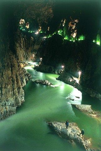 Höhlen von Skocjan, Slowenien - Welterbe