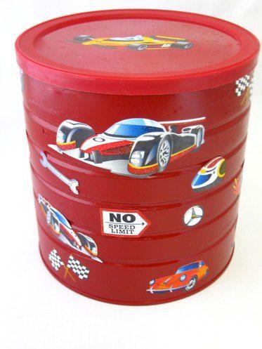Easy DIY Matchbox car storage!