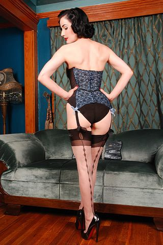Oh Dita, stop making beautiful interesting stockings that I want to splash out on.