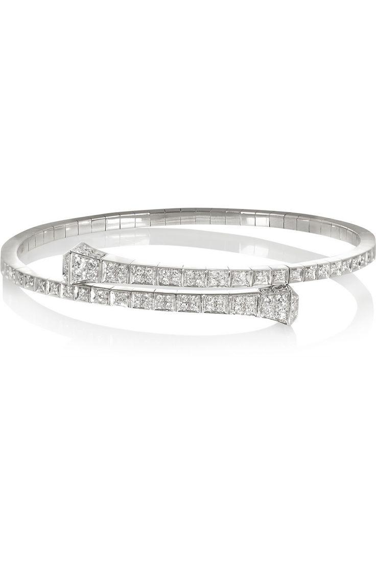 GUCCI diamond bracelet | 1.448-carats of diamonds | 18-karat white gold | £8,740