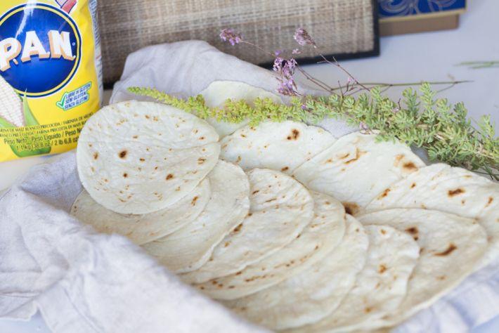 Tortitas de maíz sin gluten