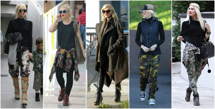 Gwen stefani styl militarny