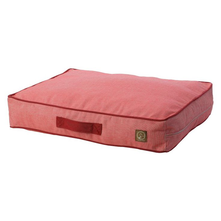 One For Pets Siesta Spanish Indoor/Outdoor Classic Pillow Bed Red - 1808-RED-M
