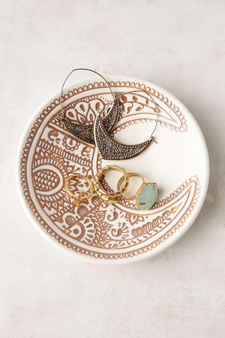 Plum & Bow Moon Catch-All Dish - Urban Outfitters