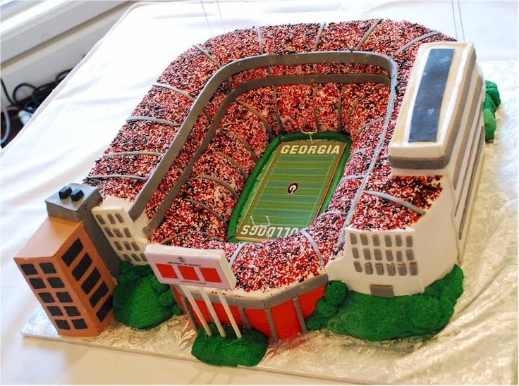 Cup a Dee Cakes Blog: UGA Sanford Stadium