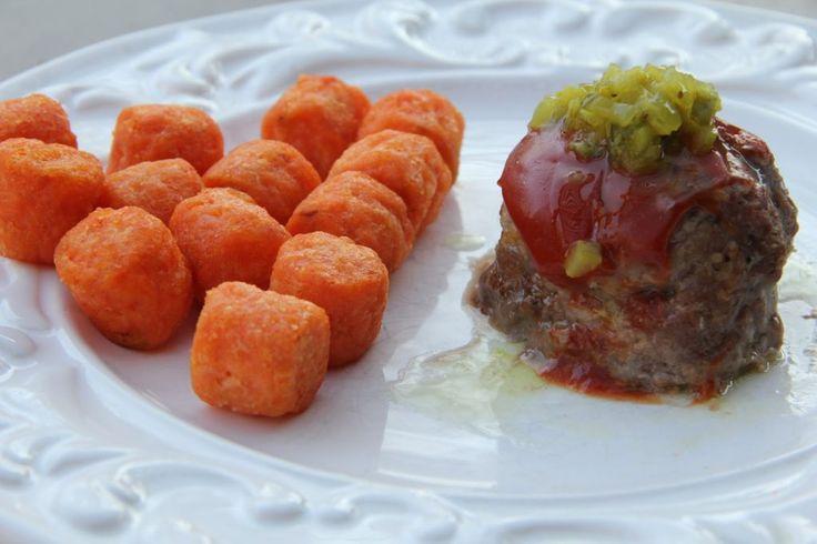 Dinner Tonight: Cheeseburger Meatballs | Mix and Match Mama