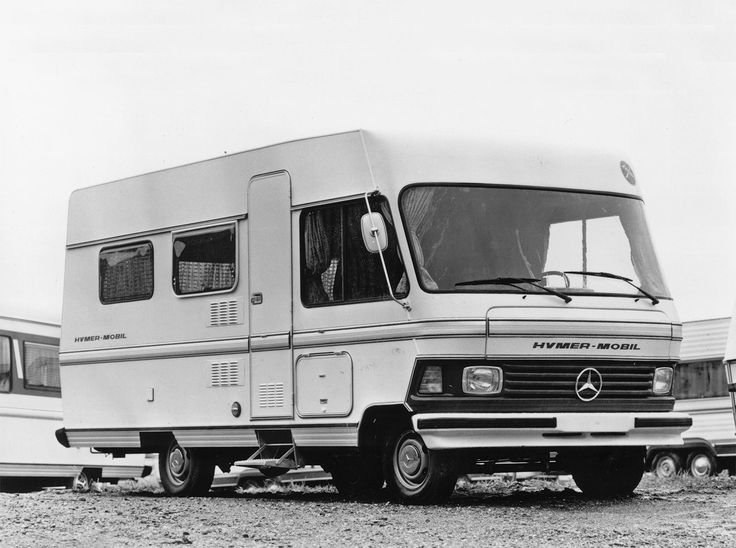 The history of the HYMER motorhome.