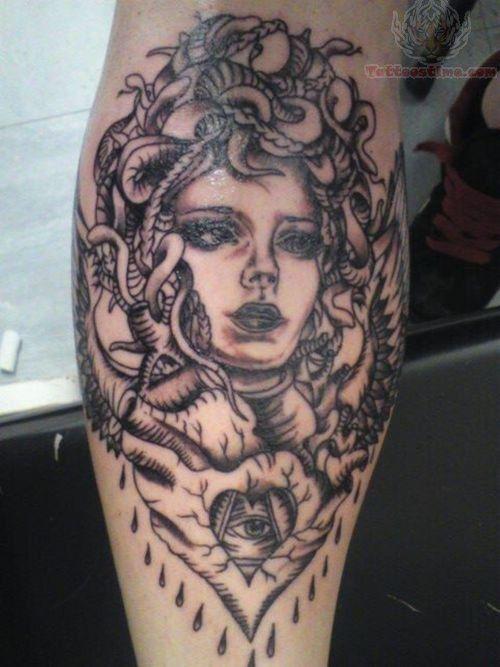 Medusa tattoo                                                                                                                                                     More