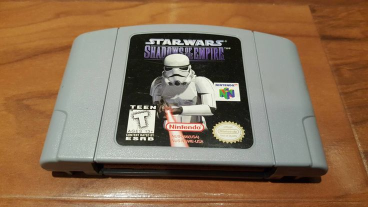 Star wars shadows of the Empire n64 video game, star wars video game, shadows of the Empire Nintendo 64,  n64 video games - pinned by pin4etsy.com