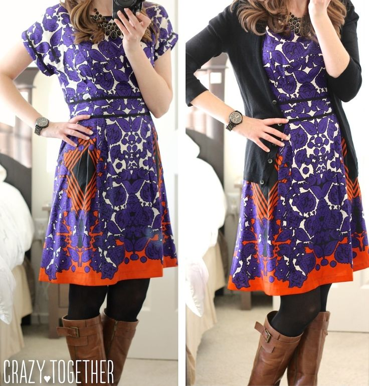 gorgeous purple Tobie Folklore Scarf Dress from Stitch Fix, October 2014 blog review