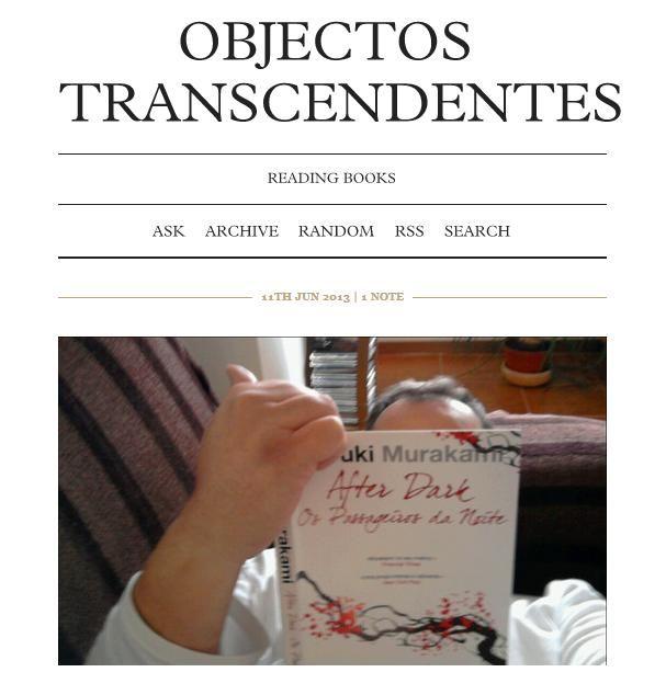 Objetos Transcendentes, o Tumblr de Miguel Botelho