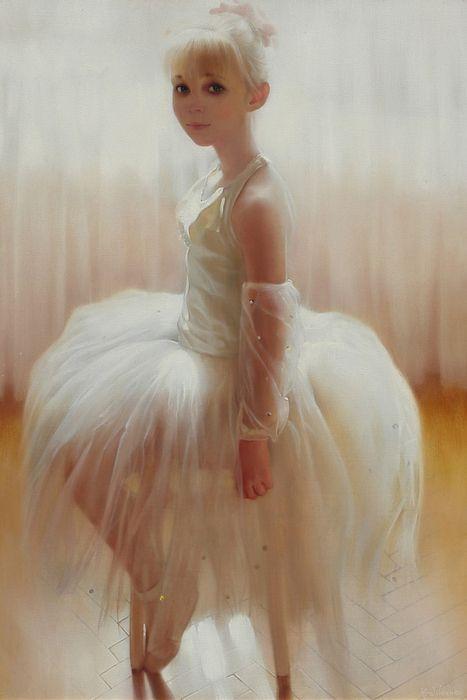 Young Ballerina - Andrei Belichenko