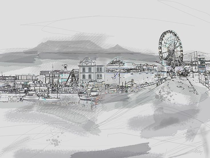 Cape Town Journal by André Pillay on www.digitalgallery.co.za  #CapeTown  #travel  #art #holiday  #prints