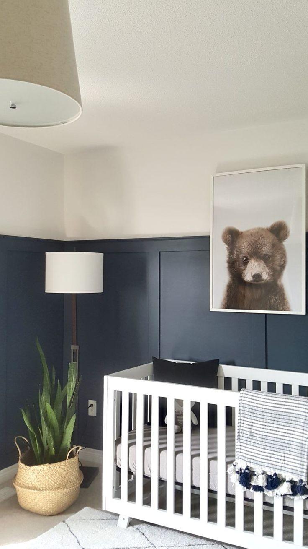 DIY Woodworking Ideas Modern Bear Woodland Nursery - Project Nursery