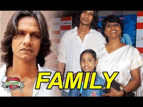 Vijay Raaz Family With Wife Krishna Raaz and Daughter Tanishka