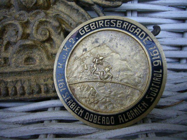 Odznak GEBIRGSBRIGADE 1914-1916 od..........1kč!!! (6669968059) - Aukro - největší obchodní portál