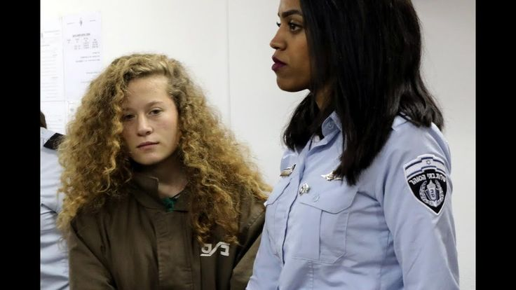 Heroic Palestinian 16-yr-old Ahed Tamim Is Latest Child Political Prisoner In Israel