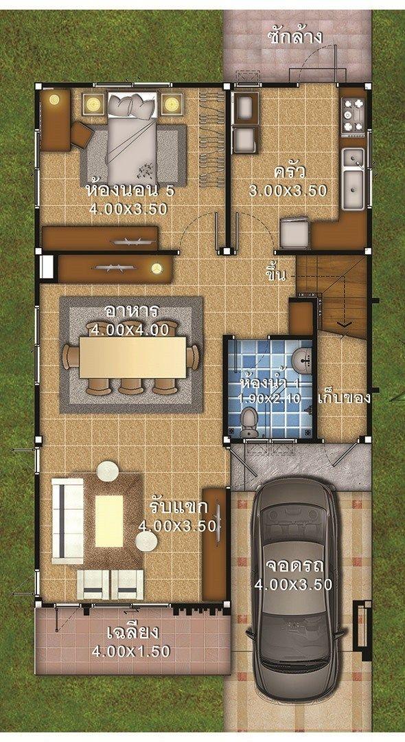 House Plans Idea 7x11 With 5 Bedrooms House Plans 3d 5 Bedroom House Plans Bedroom House Plans Home Design Plans