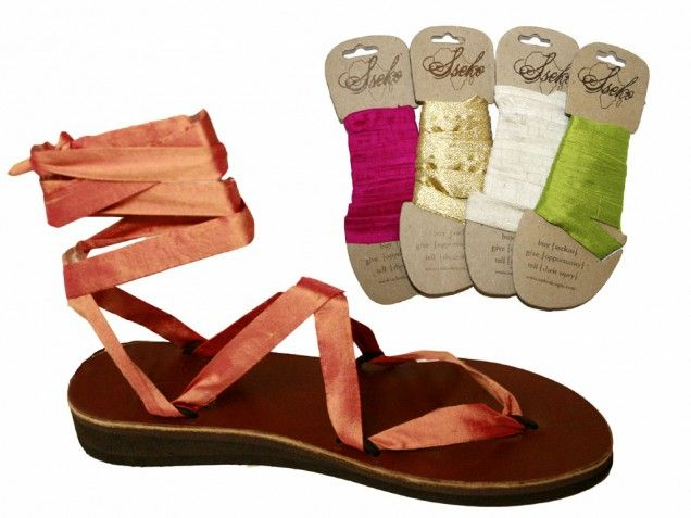 These are Sseko sandals made by women in Uganda: the colored wraps are interchangable and sold separately from the sole, so you can change them up as much as you change your clothes if you want! My younger sister would absolutely love these!!! #FairTuesday