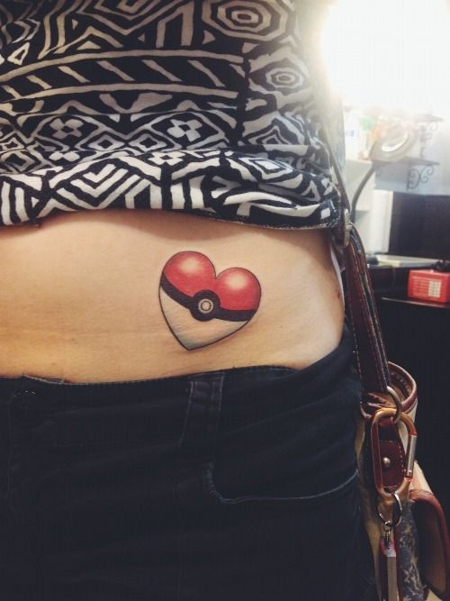 1000 images about pokemon tattoo on pinterest cute for Coral springs tattoo