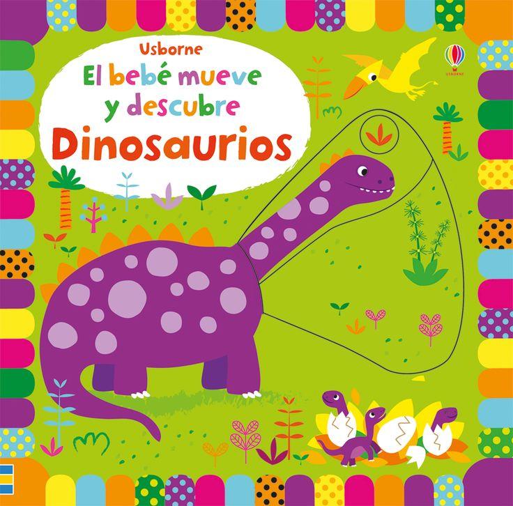 Las páginas rígidas de este precioso libro contienen paneles deslizantes bajo los que se esconden dibujos de simpáticos dinosaurios a todo color.  #niños #paraniños #librosparaniños #lecturainfantil #literaturainfantil #bebé #bebés #parabebés #peque #libros #dinosaurios