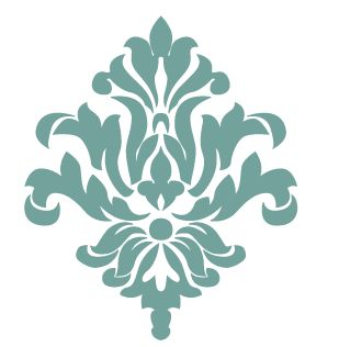 damask pattern from Silhouette