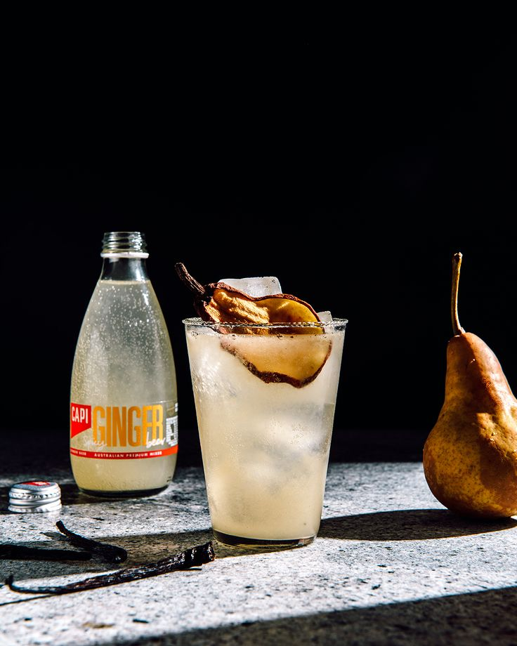 We've combined our lively CAPI Ginger Beer with rich vanilla and fresh pear nectar to create a gorgeous little mocktail that's sure to satisfy your sweet-tooth, and leave you feeling virtuous.