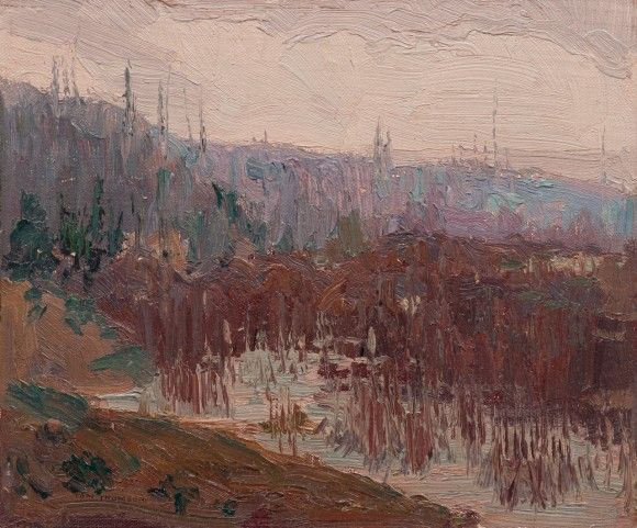 Tom Thomson, Cat's-Tails, Canoe Lake, 1913