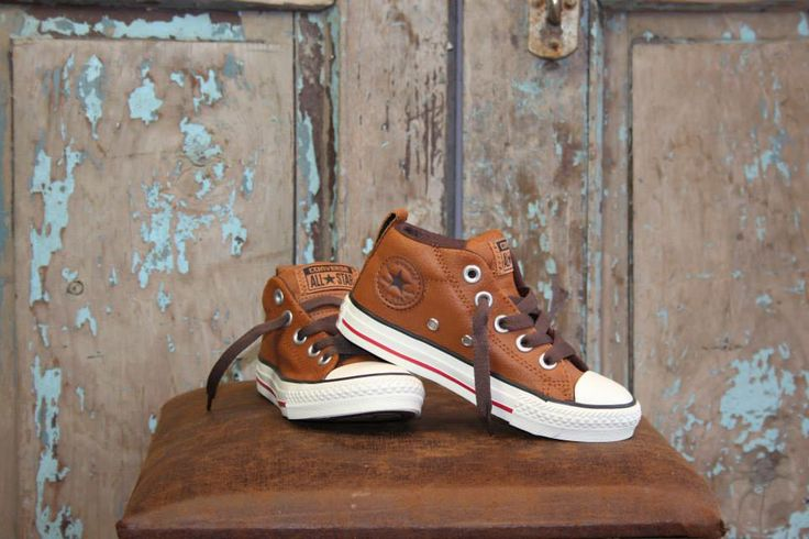 Leather Converse - Mid