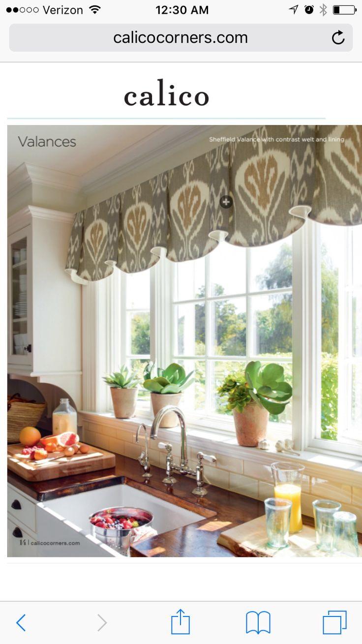 193 Best Valances Images On Pinterest | Curtains, Window Coverings And  Curtain Ideas