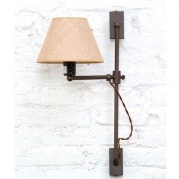 Aplique london cross l mparas retro vintage - Lamparas y apliques rusticos ...