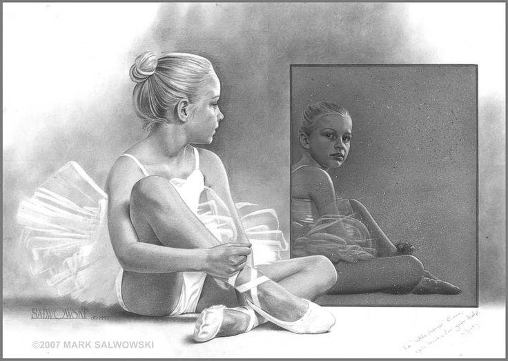 Sketch Of A Ballet Dancer