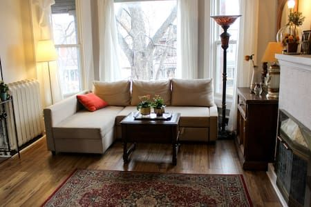 Check out this awesome listing on Airbnb: East Toronto Gem in Historic House - Apartments for Rent in Toronto