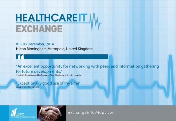 Xait at the Healthcare IT Exchange 2014