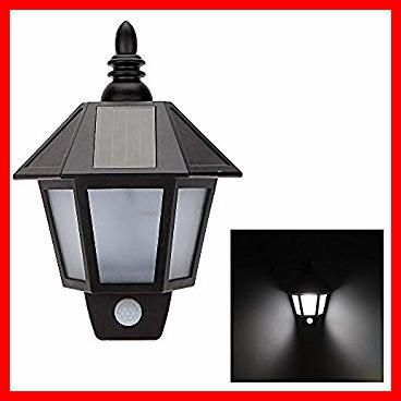 Solar Powered Outdoor Wall Light With Pir In 2020 Solar Lights Garden Outdoor Wall Mounted Lighting Solar Wall Lights