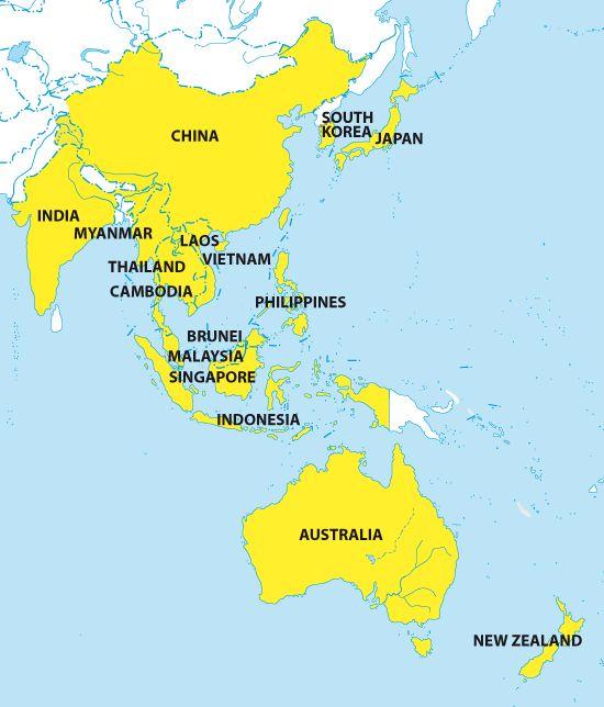 WORLD REGIONS 12 regions of the world map - Google Search Social - best of world map japan ecuador
