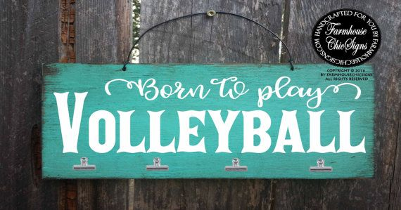 born to play volleyball, volleyball sign, volleyball player, gift for volleyball, gift for volleyball player, volleyball sign