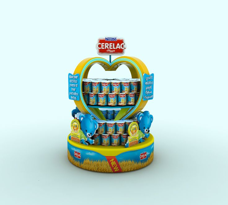 CERELAC DISPLAY STANDS AND GONDOLA