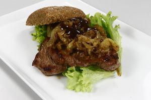 Mørbrad burger 4