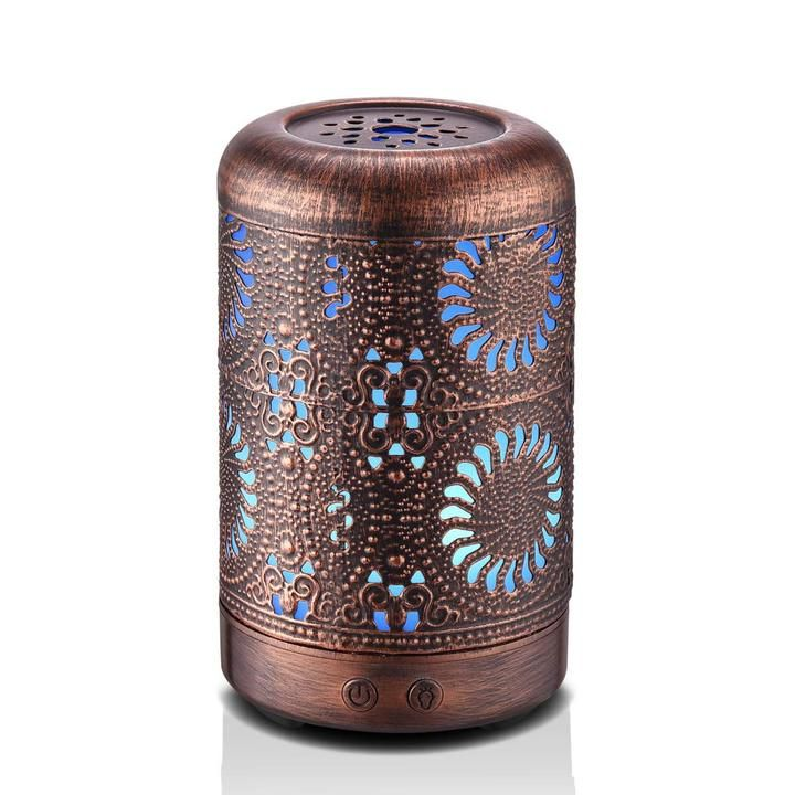LED Ultraschall Luftbefeuchter Aroma Diffusor Aromatherapie Duftlampe 7 Farbe 9e