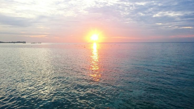 Sunset at Derawan Island, East Borneo, Indonesia